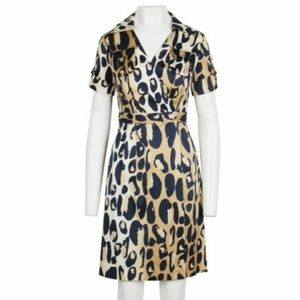 DIANE von FURSTENBERG ~ SAMARA ANIMAL PRINT DRESS